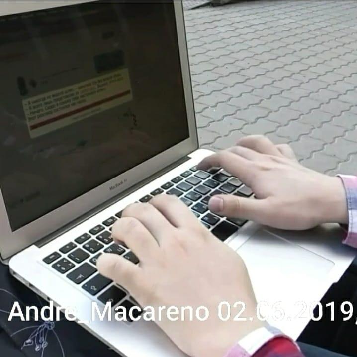 Нажатие Backspace в исполнении Андрея Макарова (Andre_Macareno).